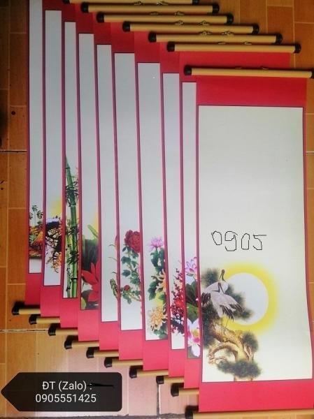 Mua 10 bộ giấy nẹp viết thư pháp cỡ 27cm x 79cm