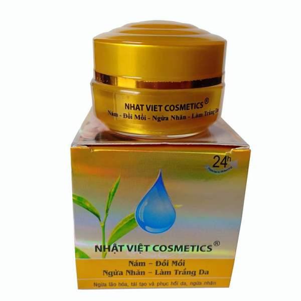 Kem Trà Xanh Trắng Da, Chống Nhăn, Ngừa Nám (13g) - Kim Ngan Cosmetics Co., Ltd giá rẻ