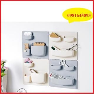 Kệ nhựa PVC dán tường đa năng- Kệ nhựa phòng tắm, nhà vệ sinh, nhà bếp thumbnail