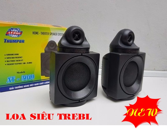 Loa tăng cường tiếng Treble và Mid Thumper AT3040 Âm thanh tiêu chuẩn chất lượng cao