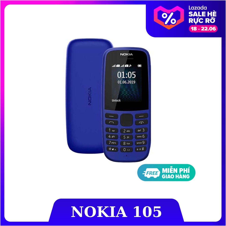 Điện thoại di động NOKIA 105 2 SIM (2019) - Hàng Chính Hãng