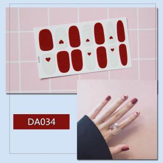 Sticker dán trang trí móng tay họa tiết dễ thương mã DA021 - DA040 thumbnail