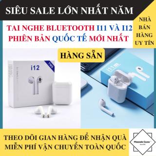 Tai Nghe Bluetooth i11 và i12 Bản Nâng Cấp Hàng Xịn, Nút Cảm Ứng - Tai Nghe Bluetooth i11 5.0 TWS Hỗ Trợ Mọi Dòng Máy - Tai nghe bluetooth khong day thumbnail