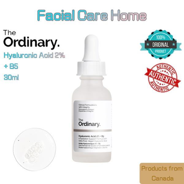 Serum Cấp Ẩm Chuyên Sâu, Phục Hồi Da Hư Tổn Hyaluronic 2% + B5 The Ordinary 30Ml cao cấp