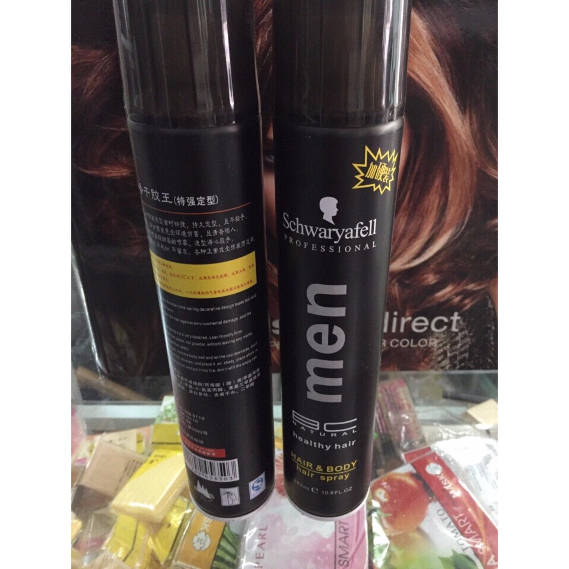 Gôm xịt tóc tạo kiểu Men 380ml nhập khẩu
