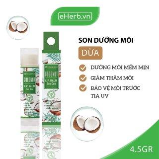 Son Dưỡng Môi Dừa Dưỡng Ẩm, Giảm Thâm Môi MILAGANICS 4.5g (Cây) thumbnail
