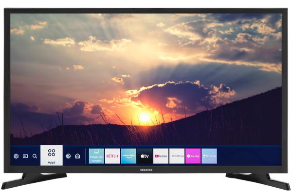 Bảng giá Smart Tivi Samsung 32 inch UA32T4500 Mới 2020, Hệ điều hành Tizen OS, Điều khiển tivi bằng điện thoại:Bằng ứng dụng SmartThings Kết nối không dây với điện thoại, máy tính bảng:Chiếu màn hình Screen Mirroring