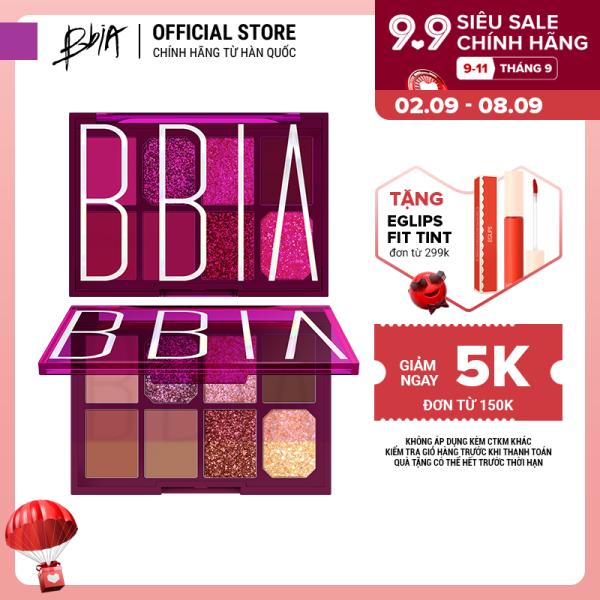 Bảng phấn mắt đa năng Bbia Final Shadow Palette - 01 Trot Star 11g