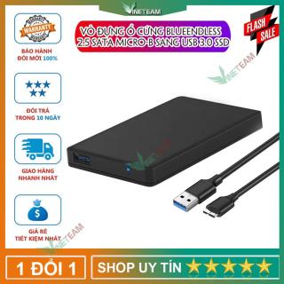 [ XẢ KHO 3 NGÀY ] Vỏ đựng ổ cứng Blueendless 2.5 SATA Micro-B Sang USB 3.0 SSD [ HÀNG CHÍNH HÃNG ] DOCHOIPC Đèn led nguồn màu xanh Dành cho ổ cứng 2.5 thumbnail