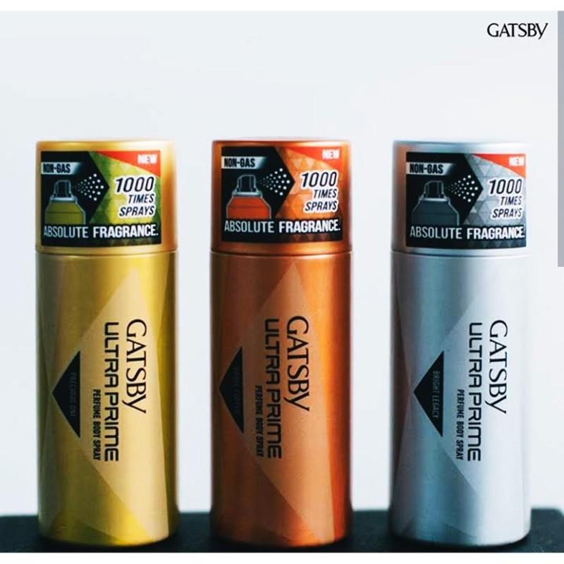 Xịt Toàn Thân Hương Nước Hoa Mạnh Mẽ,Quý Phái Nam Tính Đẳng Cấp Gatsby Ultra Prime Perfume Body Spray 150ml (100% From Indonesia) giá rẻ