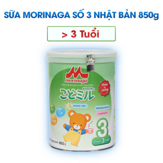 Sữa Morinaga Kodomil số 3 hương vani 850g tách quai thumbnail