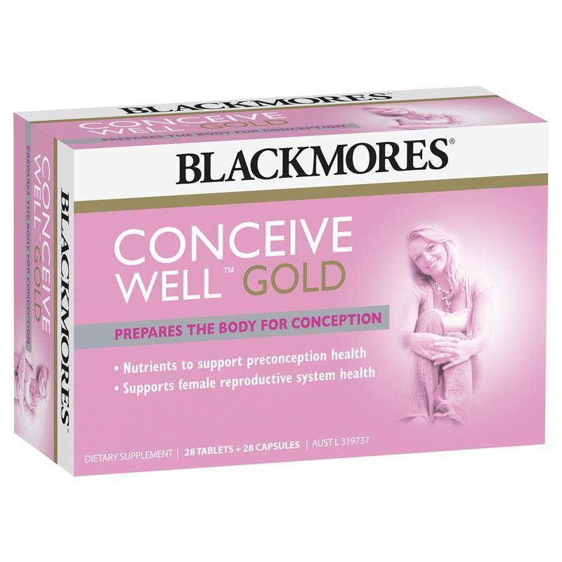 Viên uống Conceive Well Gold Blackmores, 56 viên cao cấp