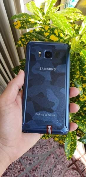 [HOT] Samsung Galaxy S8 Active xanh CAMO cool ngầu, cấu hình cực mạnh, đẹp zin