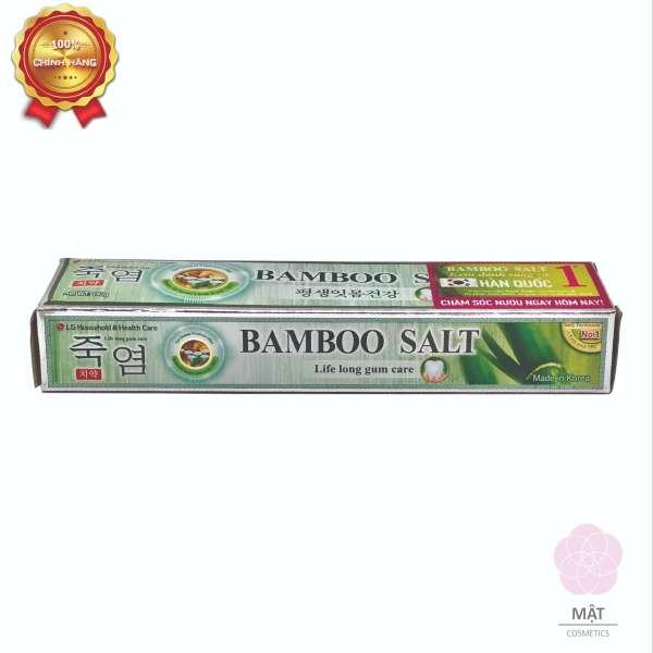 [HCM]Kem Đánh Răng muối tre Hàn Quốc Bamboo Salt 140g nhập khẩu