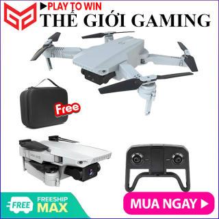 Kèm túi đựng - Máy bay Flycam Teng mini KF609, Camera 4K, nhận diện cử chỉ, gấp gọn kết nối trực tiếp điện thoại - Hãng phân phối chính thức