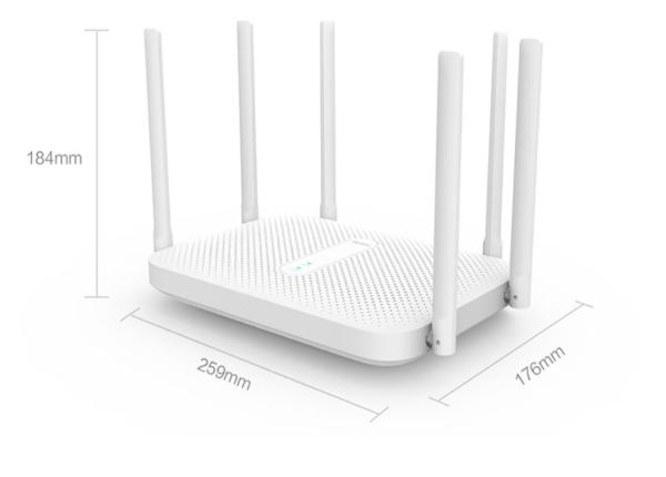 Router Xiaomi Redmi AC2100 5G Băng Tần Kép Không Dây Xuyên Tường WiFi Tốc Độ Cao Cho Căn Hộ Lớn