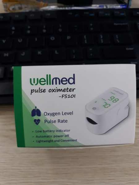 Nơi bán Máy đo nồng độ oxy trong máu SPO2 Wellmed