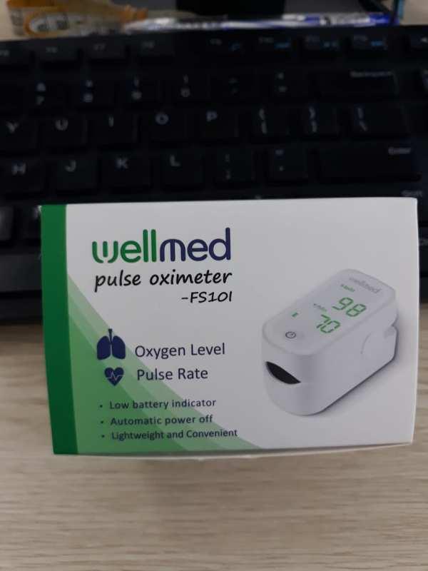 Máy đo nồng độ oxy trong máu SPO2 Wellmed bán chạy