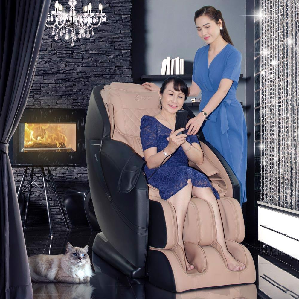 Tiết Kiệm Cực Đã Khi Mua Ghế Massage 4D Black Diamond MK-5600