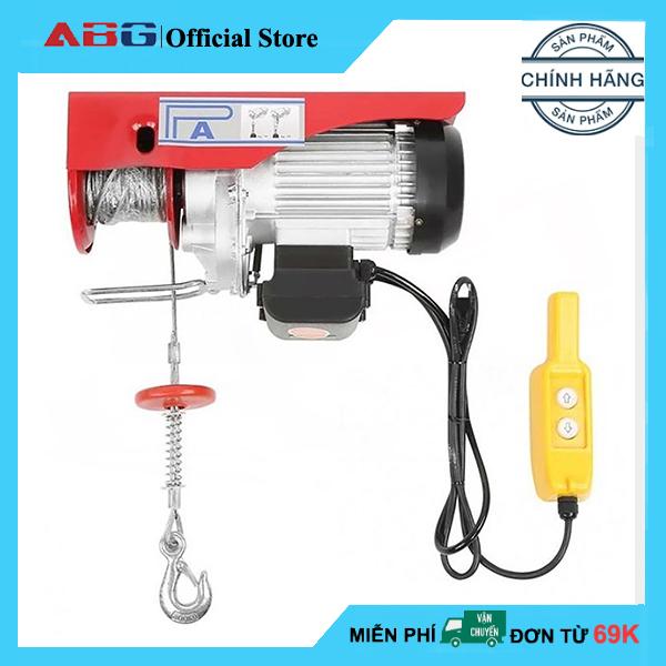 Tời Điện ABG PA300 (150/300kg) - Cáp Dài 12M