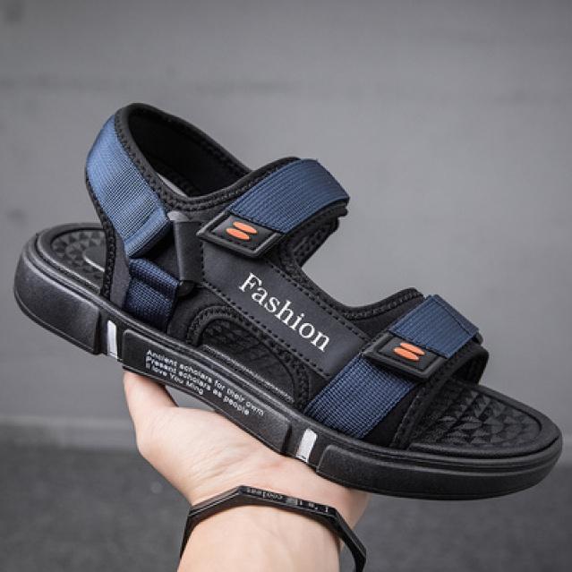 Dép sandal nam Fashion quai ngang thoáng khí êm chân phù hợp mọi lứa tuổi giá rẻ