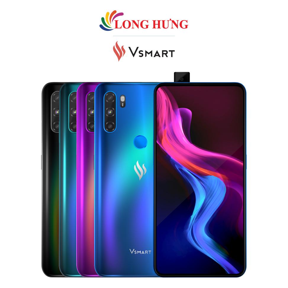 Điện thoại Vsmart Active 3 (6GB/64GB) - Hàng chính hãng - Màn hình 6.39 inch AMOLED Full HD+ Camera trượt 16MP bộ 3 Camera sau 48MP Pin 4020mAh