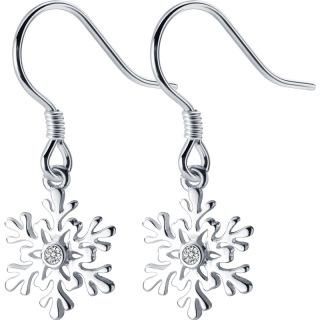 Bông tai bông tuyết xinh xắn cho nữ B2620 - Bảo Ngọc Jewelry thumbnail