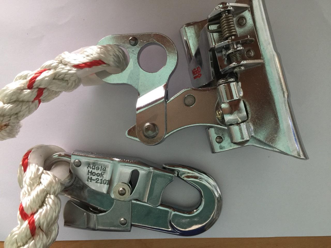 Khóa cứu sinh adela (Dành cho dây thừng 14mm đến 16mm)