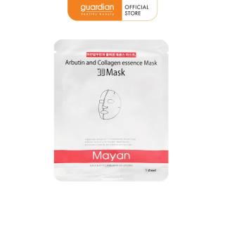 Mặt nạ 3D Mayan Collagen Arbutin xoá mờ nám và tàn nhang 25ml