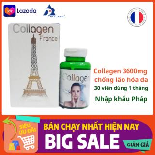 Collagen France 3600mg trẻ hóa làn da trắng da , chống lão hóa thumbnail
