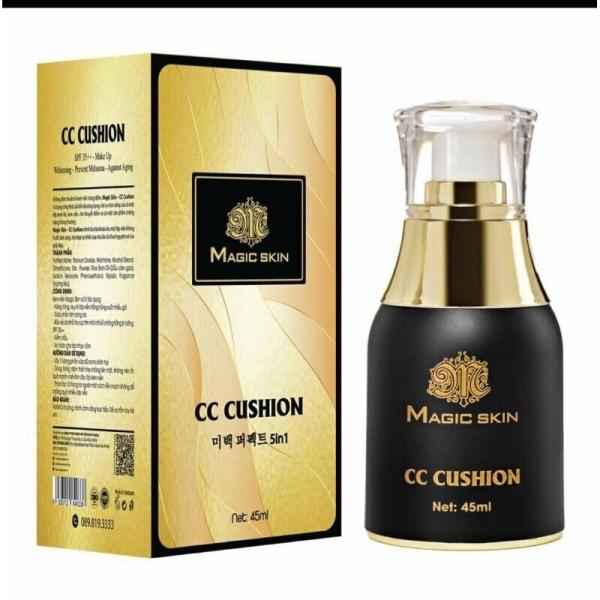 CC Cushion Magic Skin chống nắng và che khuyết điểm da căng rạng rỡ