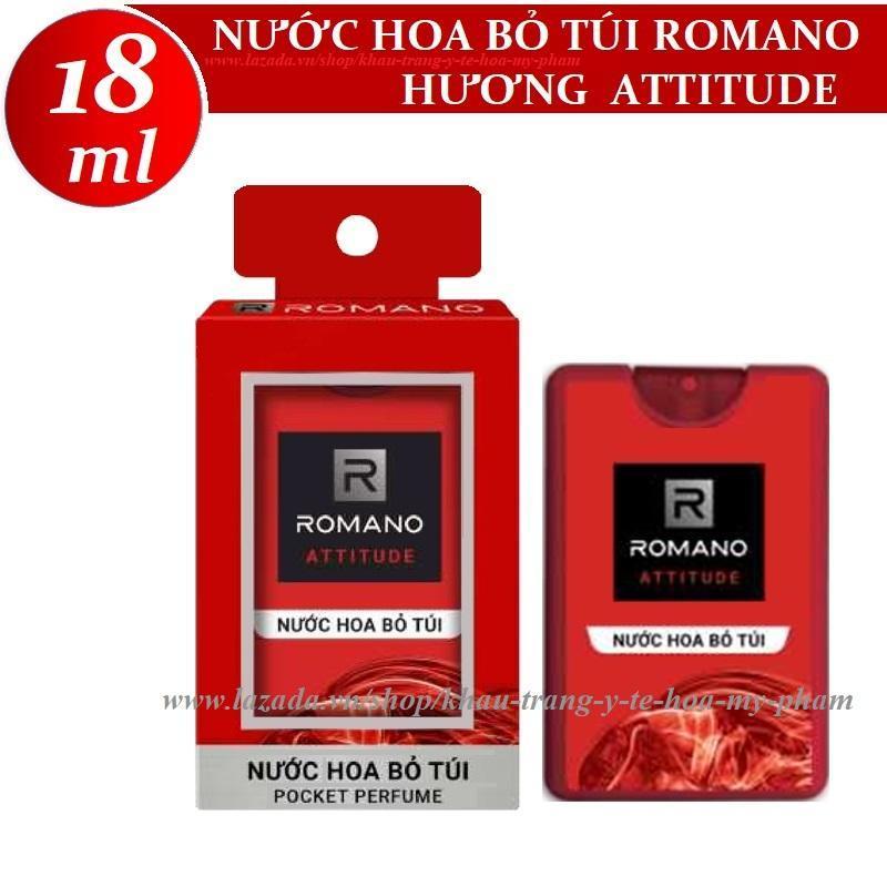 Romano - Nước hoa bỏ túi hương  Attitude 18 ml