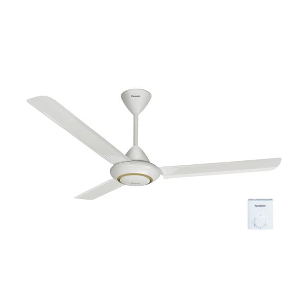 Quạt trần 3 cánh ti 45.7cm màu trắng - PANASONIC F-60MZ2