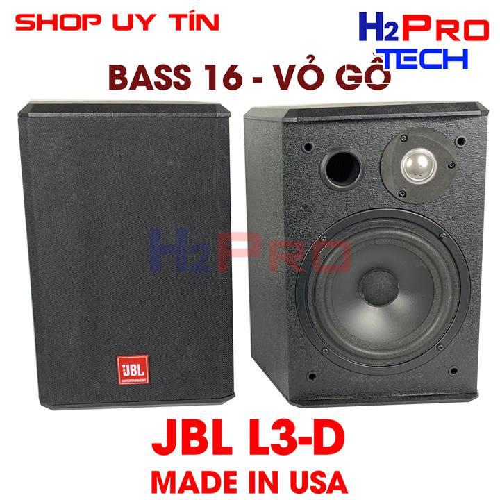 Lazada Giảm Giá Khi Mua Đôi Loa Lời JBL L3-D Bass 16 80W, Vỏ Gỗ Hàng Bãi USA ( 2 Loa )