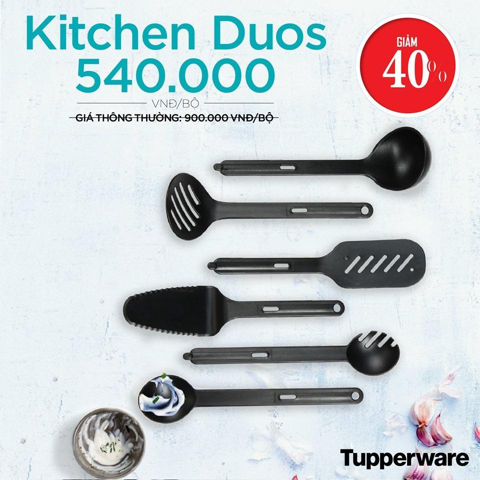Bộ dụng cụ vá muỗng nấu ăn Kitchen Duos (Set 6).