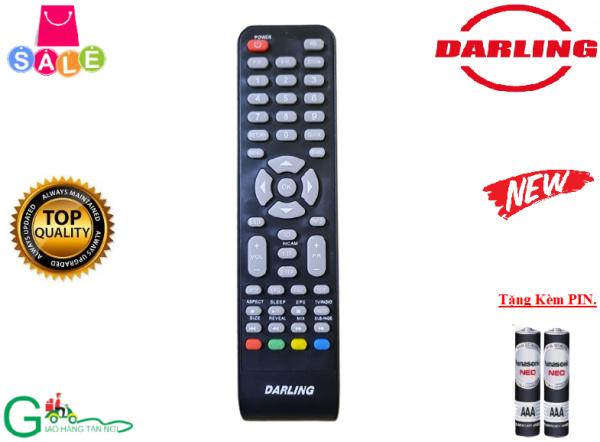 Bảng giá Remote Điều khiển từ xa tivi Darling dùng cho các dòng LED/LCD/Smart TV- Hàng chính hãng,mới 100%- Tặng kèm Pin