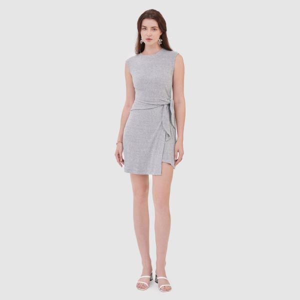Đầm knit tùng layer cột dây - MARC FASHION