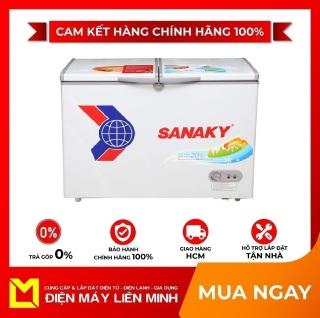 TRẢ GÓP 0% - Tủ đông Sanaky VH-2899A1 280 lít - Miễn phí vận chuyển HCM thumbnail