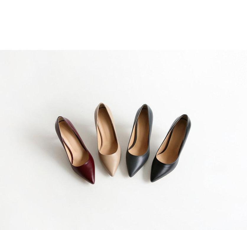 Giày cao gót xk0027 đen giá rẻ