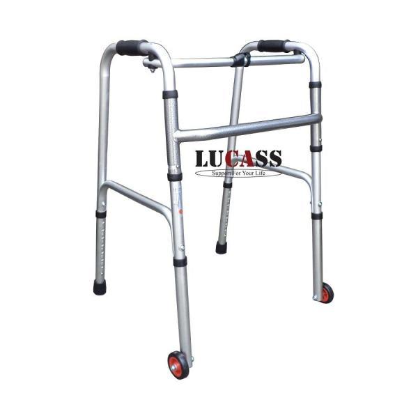 Khung Tập Đi Hợp Kim Nhôm Lucass W47 – Giúp người tập đi sau tai biến, người già đi lại vững vàng hơn – Khung hợp kim nh