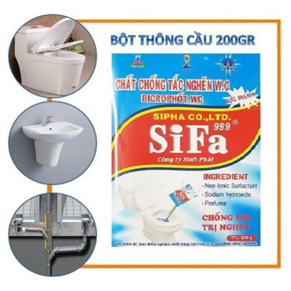 Bột Thông Cầu Diệt Khuẩn 300Gr Tẩy Trắng Cấp Tốc – Chất Tẩy Khử Mùi Vệ Sinh Toilet