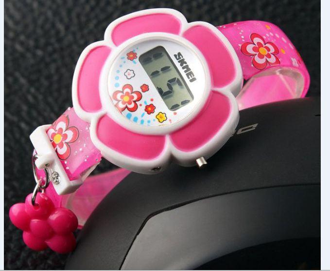 Giá bán Đồng hồ điện tử cho bé gái Skmei 1144 siêu đáng yêu(Cập nhật 2019)