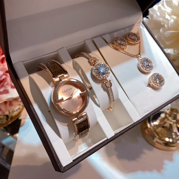 Set Đồng Hồ Gucci Bộ 5 Loại bán chạy