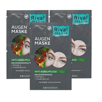 Set 03 Mặt nạ cho mắt Rival de Loop Augen Maske 3x6ml - Đức tốt nhất