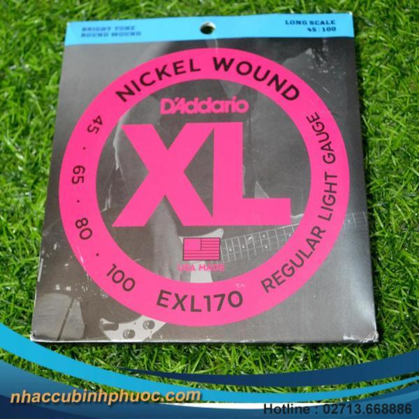 Bộ dây đàn Guitar Bass EXL170