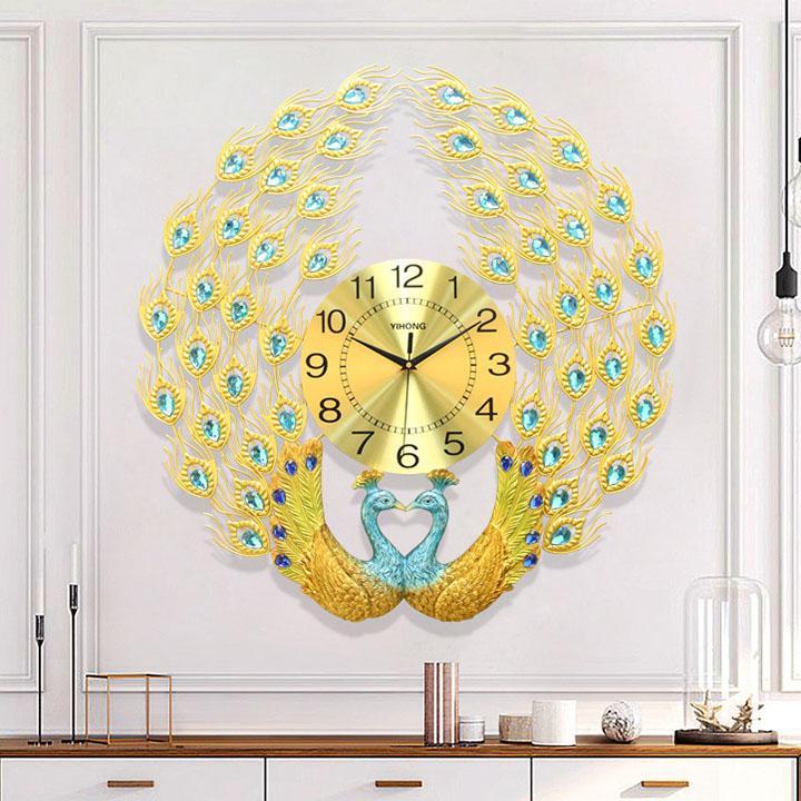 Đồng hồ treo tường - Đồng hồ con công bán chạy