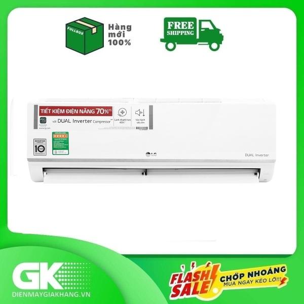Bảng giá Máy lạnh LG Inverter 1 HP V10ENW, Động cơ Dual Inverter - làm lạnh nhanh hơn 40%, tiết kiệm điện lên đến 70%, vận hành êm ái - Bảo hành 12 tháng Điện máy Pico