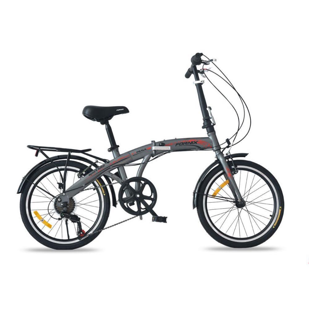 Mua Xe đạp gấp Prava màu bạc đẳng cấp