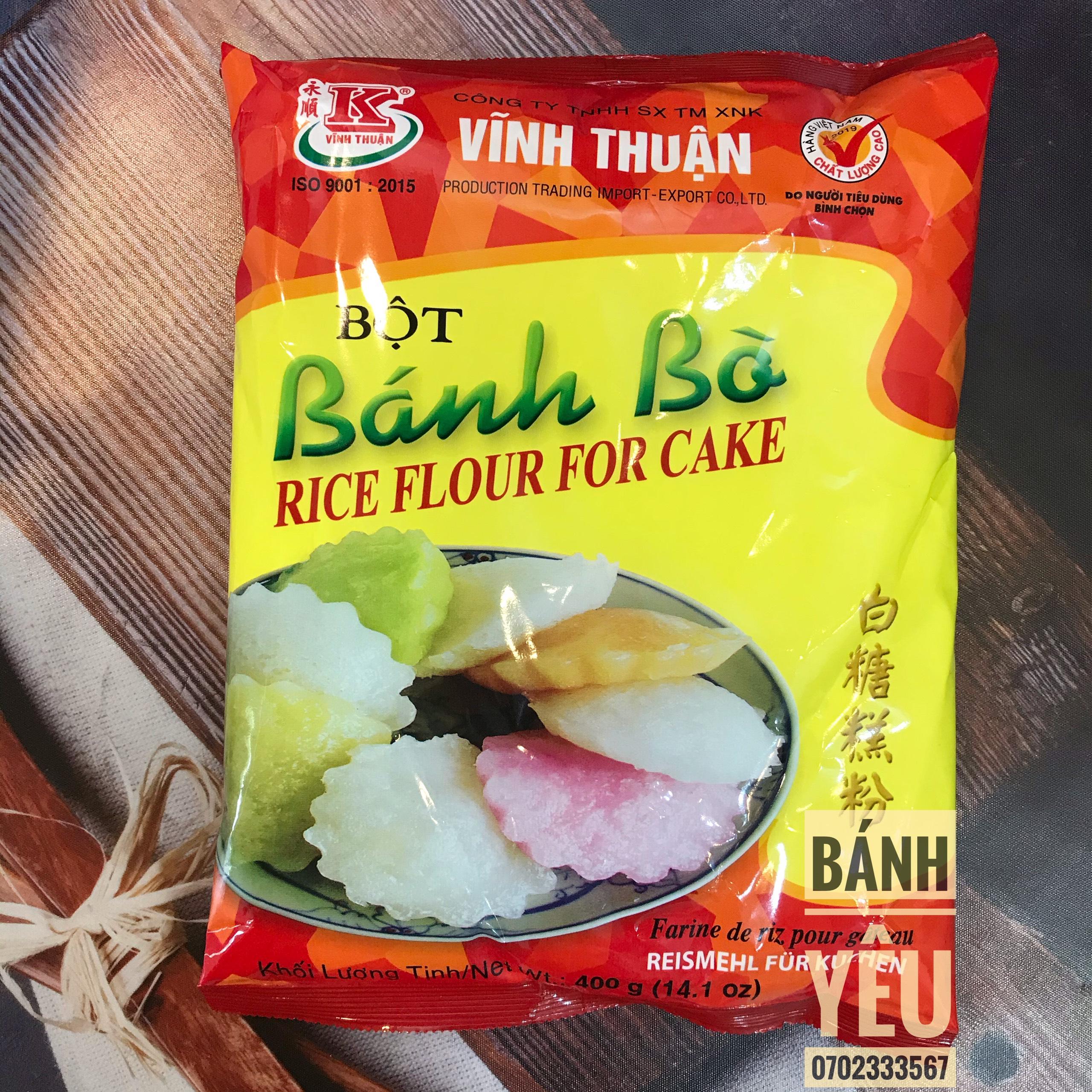 Bột bánh bò có men Vĩnh Thuận 400g