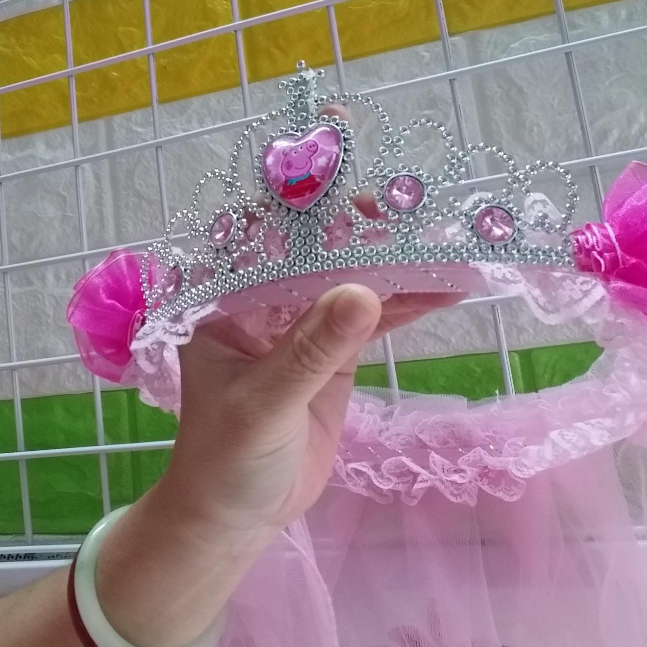 Băng đô vương miện công chúa cho bé